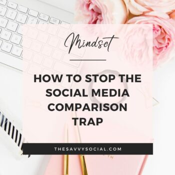 The social media comparison game how to stop it